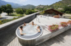 theme, montbrun, jacuzzi, relax, detente, sejour, residence***, fontaine annibale, drome, provence