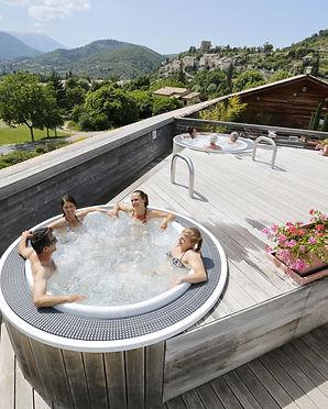 detente, relax, jacuzzi, bain, therme, resience***, la fontaine annibal, buis les baronnies, drome, provencale
