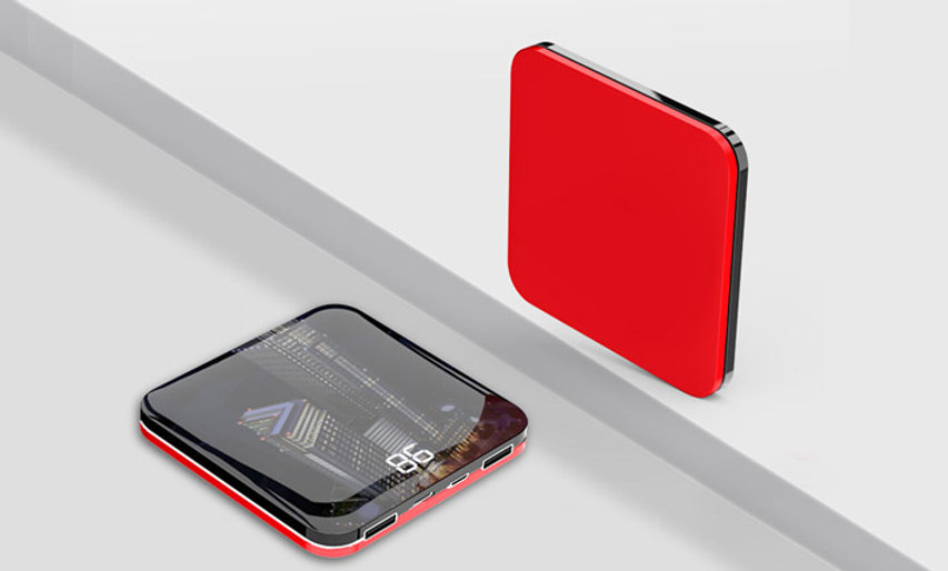 Mini Size 10000mAh Large Capacity Portable Power Bank