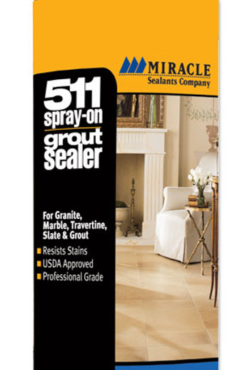 Miracle 511 Spray on Grout Sealer 15oz
