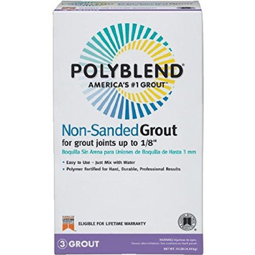 Polyblend Non Sanded Grout