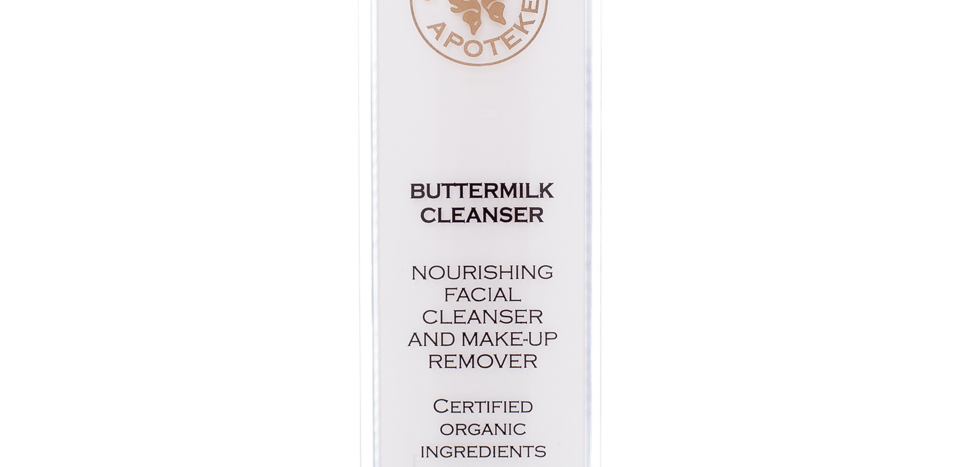 Organic Apoteke Buttermilk Cleanser. Full Size, £41.95