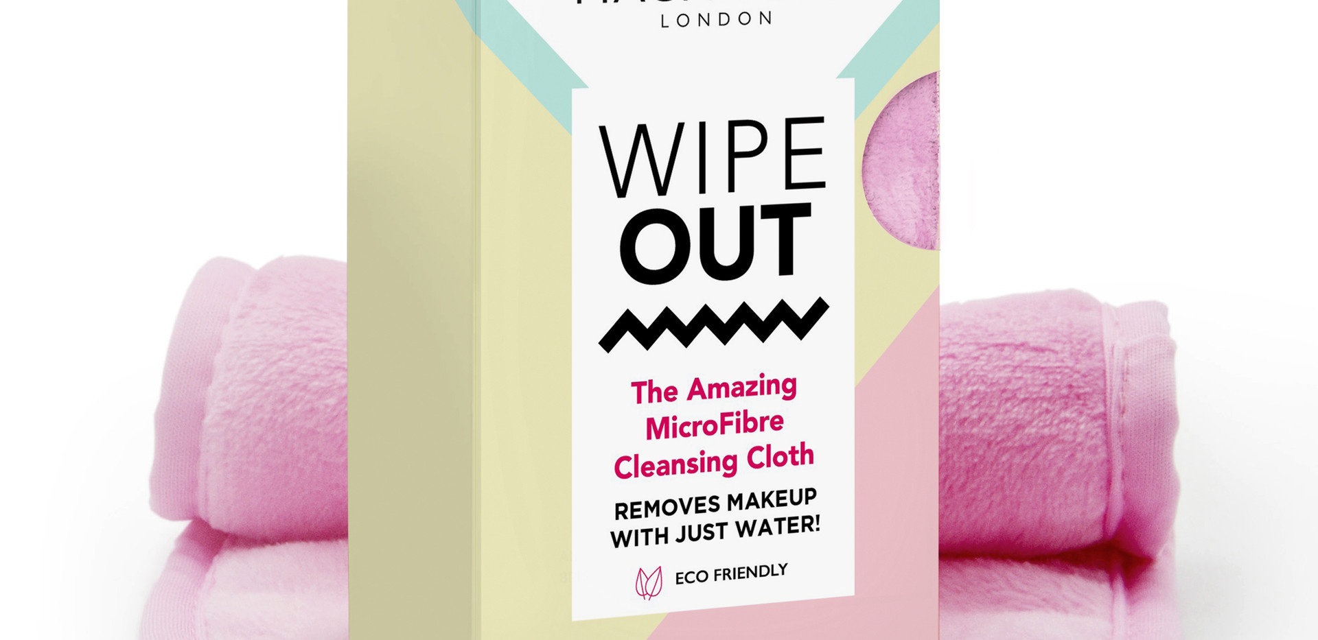 Magnitone, Wipeout! Microfibre Cleansing Cloth. Full Size, £15
