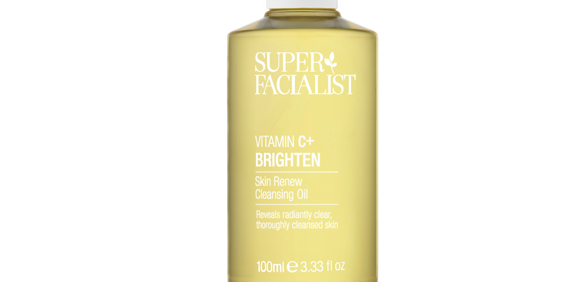 Super Facialist Vitamin C Skin Renew Cleansing Oil, 100ml. Travel Size, £5.50