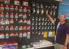 MICHON Computers heeft alle soorten en bekende merken cartridges het assortiment.