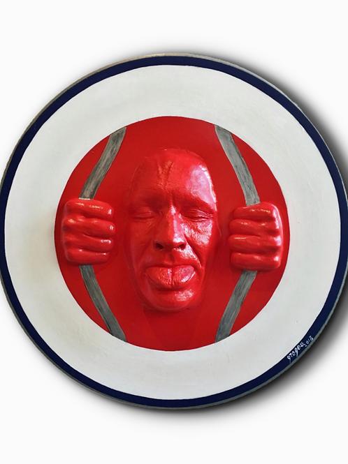 GREGOS - Visage rouge