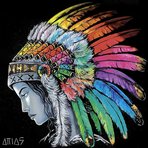 YEHIEL ATTIAS- Indienne Rainbow