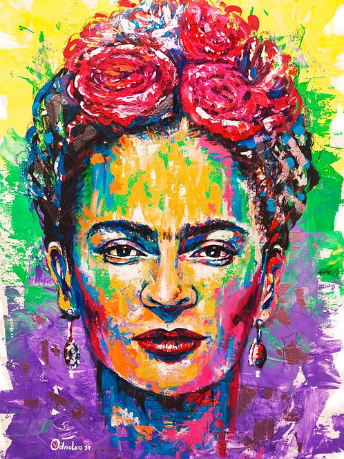 VALENTYNA ODNOLKO - Portrait de Frida
