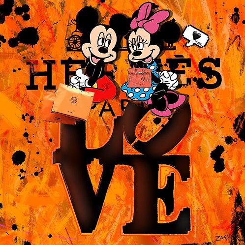 ZAC - HERMES LOVE MICKEY MINNIE
