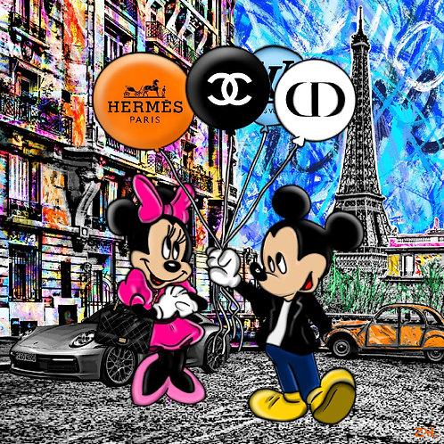 ZAK - Mickey & Minnie in Paris