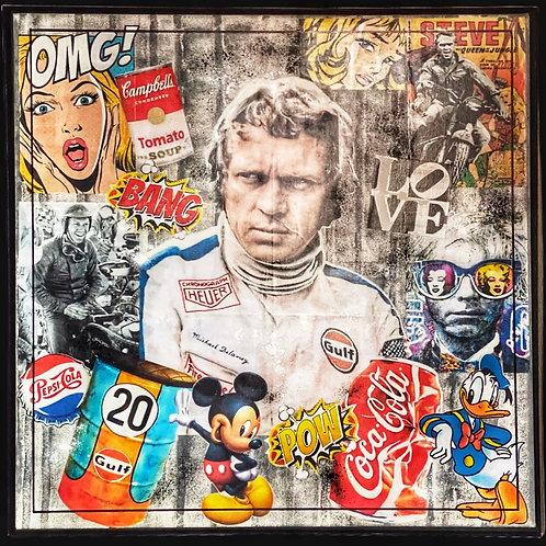 RUAN C -Steve McQueen POP-ART
