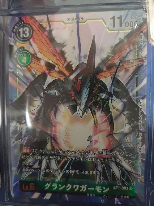Parallel Super Rare BT1-083 Grankuwagamon