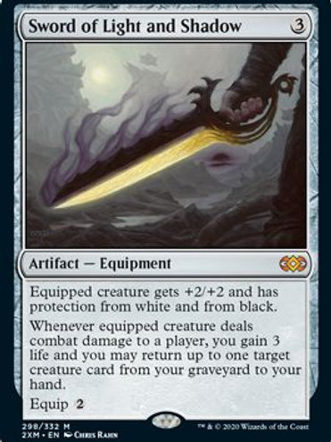 Double Masters - Sword of Light and Shadow (M)