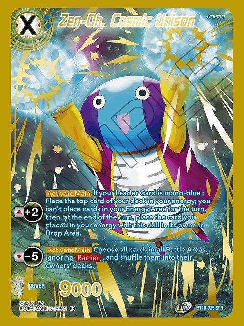 BT10-035 Zen-Oh, Cosmic Unison SPR