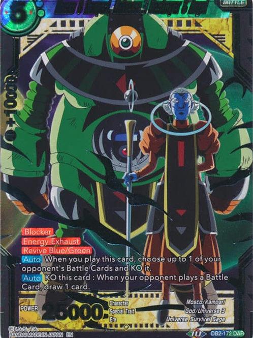 DB2-172 Mosco & Kampari, Universe 3 Destroyer & Angel (DAR)