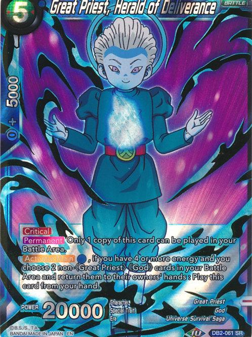 DB2-061 Great Priest of Deliverance (Super Rare)
