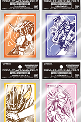 Restock Wave 2 Digimon Official Card Sleeves