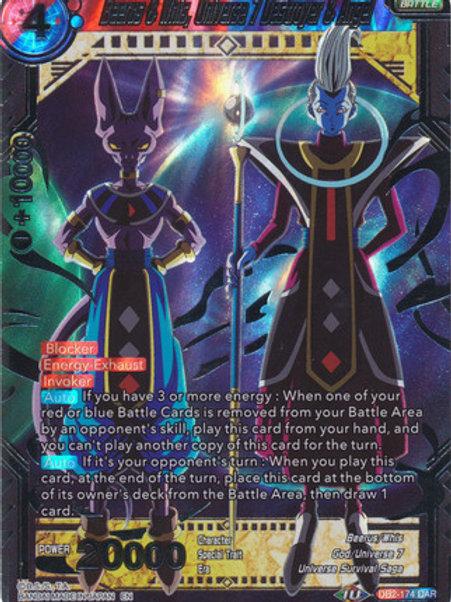 DB2-174 Beerus & Whis, Universe 7 Destroyer & Angel (DAR)