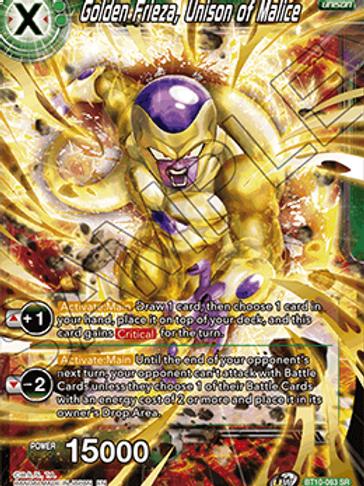 BT10-063 Golden Frieza, Unison of Malice (SR)
