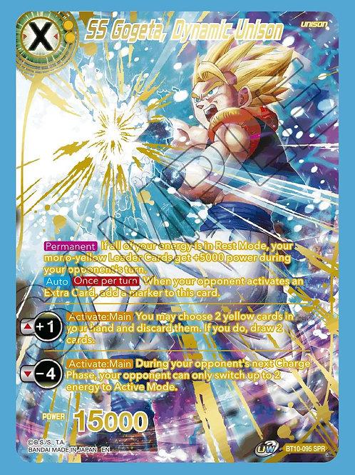 BT10-095 SS Gogeta, Dynamic Fusion SPR