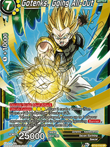BT10-110 Gotenks, Going All-Out (SR)