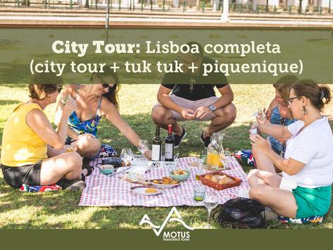 City Tour: Lisboa completa (city tour + tuk tuk + piquenique)