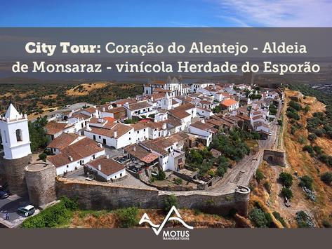City Tour: Coração do Alentejo - Aldeia de Monsaraz (com vinícola Herdade do Esporão)