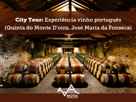 City Tour: Experiência Vinho Português (Quinta do Monte D'oiro, José Maria da Fonseca)