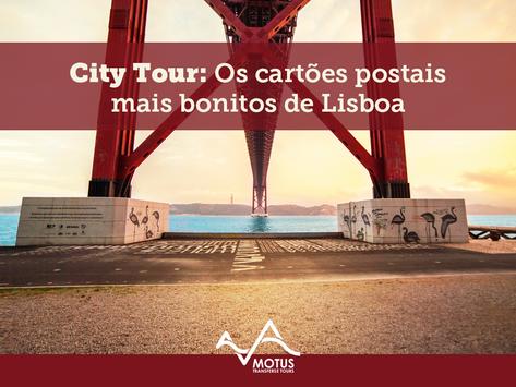 City Tour: Os cartões postais mais bonitos de Lisboa