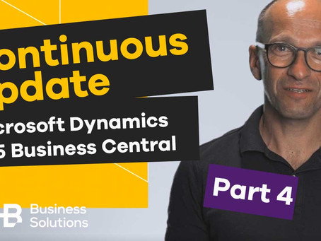 SHB Tutorials: Continuous Updates und Upgrades für Microsoft Dynamics 365 Business Central
