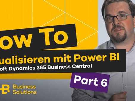 SHB Tutorials: Power BI Cloud für Microsoft Dynamics 365 Business Central