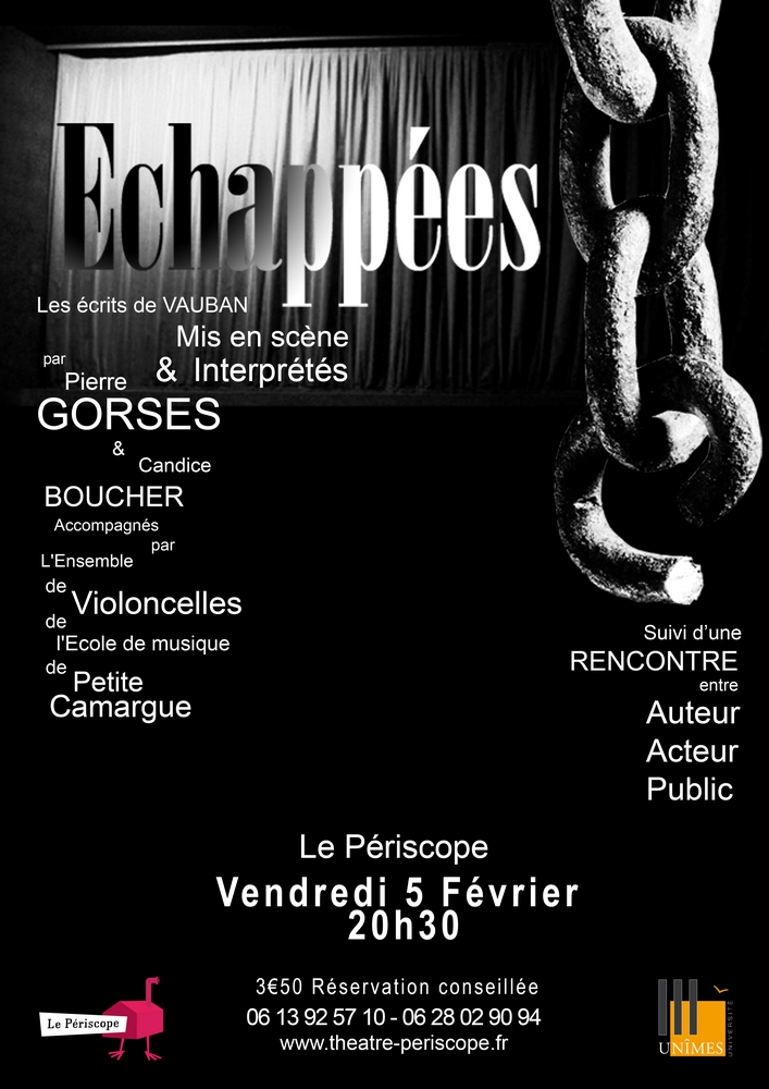 ECHAPPEES Lecture spectacle
