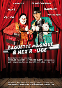AFFICHE MAGIE CLOWN