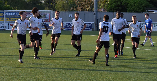 Conquest vs Chessington, At Sutton, Goal
