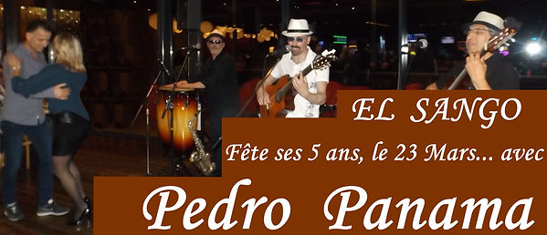Affiche 1 PEDRO PANAMA - EL SANGO 23 03