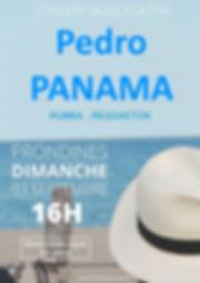 Concert Pedro Panama Prondines  03 Septe