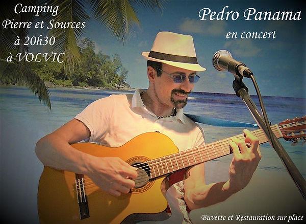 Affiche Pedro Panama poster palmier vign