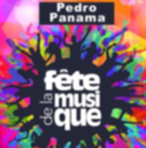 Affiche_Pedro_Panama_fête_de_la_musique.