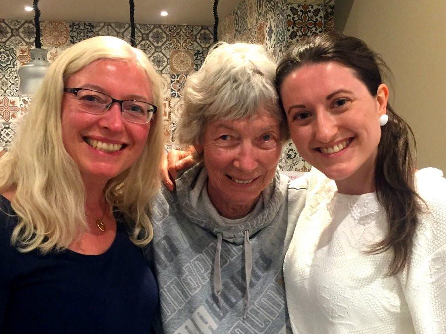 Tre generationer Strandgårdare