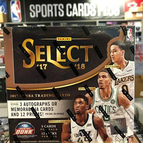 2017-18 SELECT NBA Hobby Box