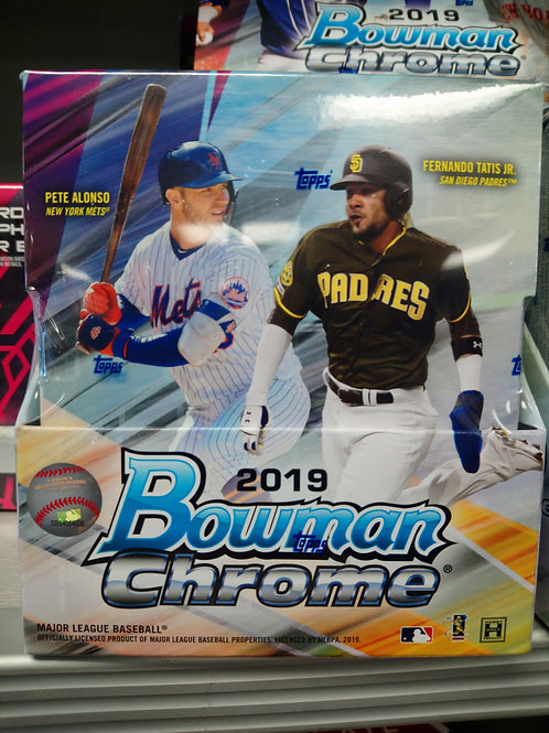 2019 Bowman Chrome Hobby Box