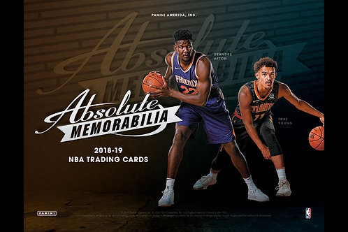 2018-19 ABSOLUTE MEMORABILIA NBA 10 Box Case
