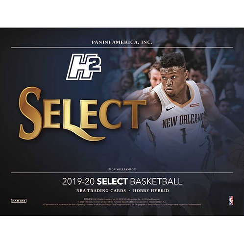 2019-20 Select Hybrid NBA Box