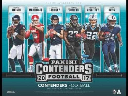 2017 Contenders NFL 12 BOX CASE
