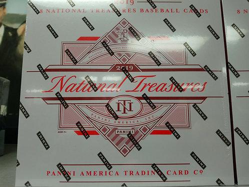 2019 National Treasures Baseball Box