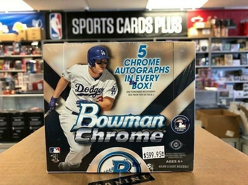 2015 Bowman Chrome JUMBO 5 Autograph Box