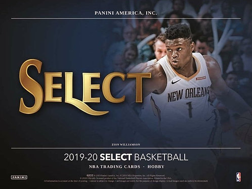 2019-20 SELECT NBA HOBBY Box