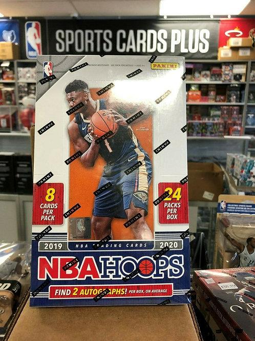 2019-20 NBA Hoops Hobby Box