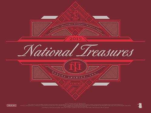 2019 National Treasures Baseball 4 Box Case
