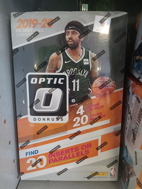 2019-20 Donruss Optic Retail 20 Pack Box